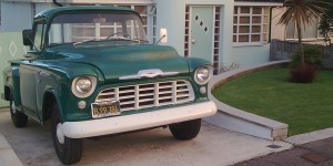 1956 Chevrolet truck - everyone loves a classic pick-up