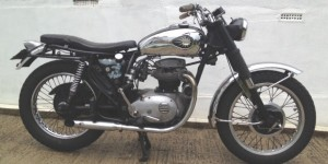 1969 BSA A50 Royal Star - cool but subtle custom