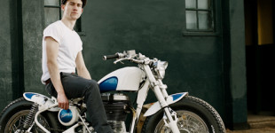 Mathew for Old Empire Motorcycles (oldempiremotorcycles.com): Photo by Jeordie Donachie