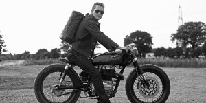 Rafe for Old Empire Motorcycles (oldempiremotorcycles.com): Photo by Nadine Ijewere (www.nadineijewere.co.uk)