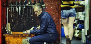 Biker style for Levi's Vintage Clothing