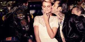 Elle Wedding mag's romantic Rockers